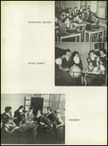 1950 Our Lady Queen of Angels High School Yearbook Page 50 & 51