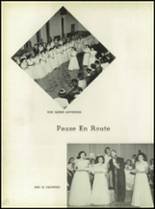 1950 Our Lady Queen of Angels High School Yearbook Page 54 & 55