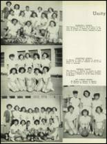 1950 Our Lady Queen of Angels High School Yearbook Page 56 & 57