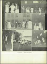 1950 Our Lady Queen of Angels High School Yearbook Page 58 & 59