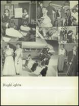 1950 Our Lady Queen of Angels High School Yearbook Page 60 & 61