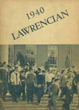 1940 Yearbook Lawrence High School