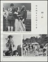 1981 Castle Rock High School Yearbook Page 36 & 37