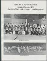 1981 Castle Rock High School Yearbook Page 52 & 53