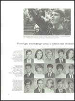 1968 Wade Hampton High School Yearbook Page 92 & 93