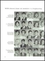 1968 Wade Hampton High School Yearbook Page 110 & 111