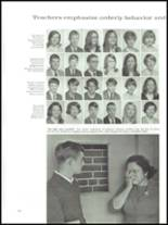 1968 Wade Hampton High School Yearbook Page 124 & 125