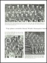 1968 Wade Hampton High School Yearbook Page 202 & 203
