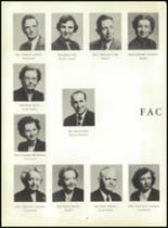 1953 Ansonia High School Yearbook Page 10 & 11