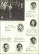 1953 Ansonia High School Yearbook Page 16 & 17