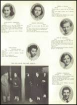 1953 Ansonia High School Yearbook Page 18 & 19