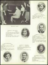 1953 Ansonia High School Yearbook Page 20 & 21
