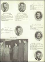 1953 Ansonia High School Yearbook Page 34 & 35