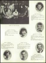 1953 Ansonia High School Yearbook Page 36 & 37