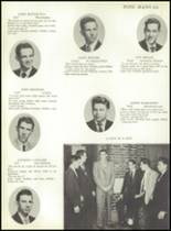 1953 Ansonia High School Yearbook Page 38 & 39
