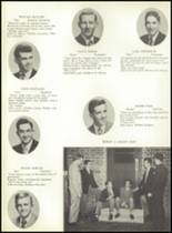 1953 Ansonia High School Yearbook Page 42 & 43