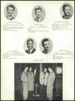 1953 Ansonia High School Yearbook Page 44 & 45
