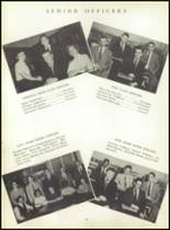 1953 Ansonia High School Yearbook Page 46 & 47