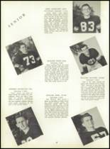 1953 Ansonia High School Yearbook Page 64 & 65