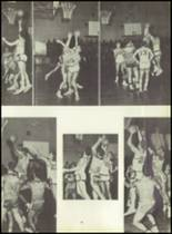 1953 Ansonia High School Yearbook Page 66 & 67
