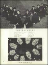 1953 Ansonia High School Yearbook Page 84 & 85