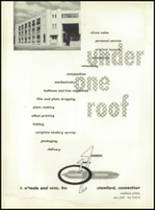 1953 Ansonia High School Yearbook Page 110 & 111