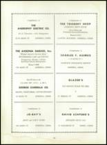 1953 Ansonia High School Yearbook Page 112 & 113