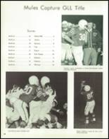 1967 Bedford High School Yearbook Page 42 & 43