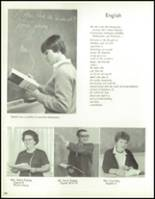 1967 Bedford High School Yearbook Page 112 & 113