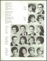1967 Bedford High School Yearbook Page 166 & 167