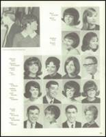 1967 Bedford High School Yearbook Page 168 & 169