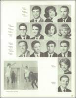 1967 Bedford High School Yearbook Page 172 & 173