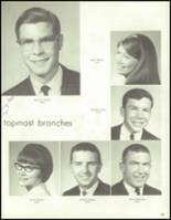 1967 Bedford High School Yearbook Page 188 & 189