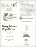 1967 Bedford High School Yearbook Page 208 & 209