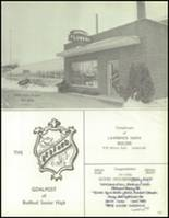 1967 Bedford High School Yearbook Page 220 & 221