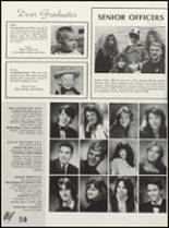 1990 Illinois Valley High School Yearbook Page 56 & 57