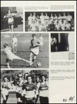 1990 Illinois Valley High School Yearbook Page 90 & 91
