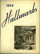 1952 Yearbook Hall High School