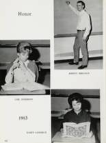 1963 Lee High School Yearbook Page 166 & 167