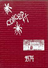 1974 Yearbook Immaculate Conception Academy High School