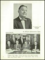 1957 Oakmont High School Yearbook Page 10 & 11