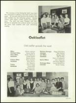 1957 Oakmont High School Yearbook Page 88 & 89