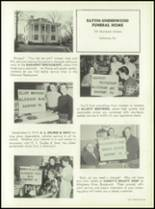 1957 Oakmont High School Yearbook Page 108 & 109