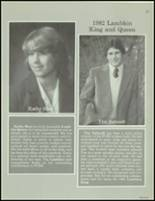 1982 Ft. Collins High School Yearbook Page 50 & 51