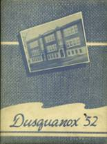 1952 Yearbook Duanesburg Central High School