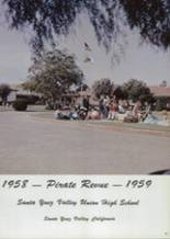 1959 Santa Ynez Valley Union High School Yearbook Page 12 & 13