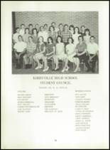 1966 Kirbyville High School Yearbook Page 98 & 99
