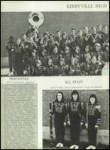 1966 Kirbyville High School Yearbook Page 110 & 111