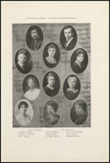 1921 Muscatine High School Yearbook Page 18 & 19