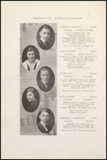 1921 Muscatine High School Yearbook Page 24 & 25